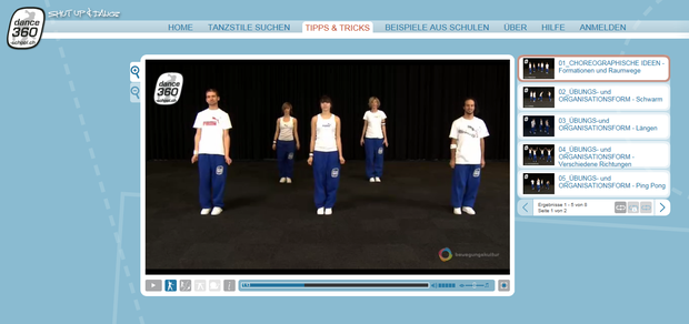 Homepage dance360-school
