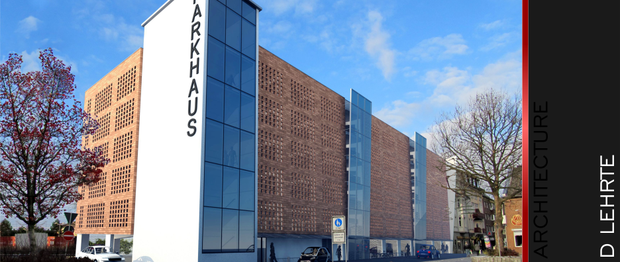 Entwurf Parkhaus Poststrasse Lehrte