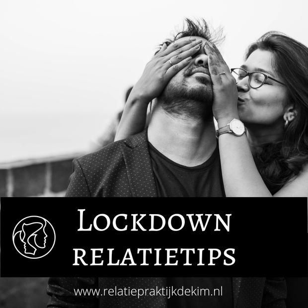 Lockdown Corona relatietips. Kim Kromwijk-Lub is relatietherapeut en helpt jullie verder