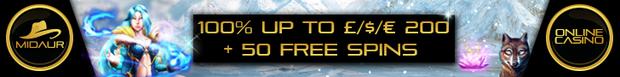 No Deposit Bonus Midaur Casino