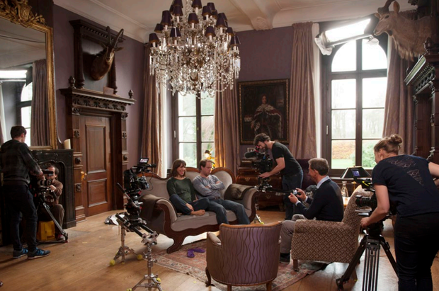 21 Kameraleute drehten an zwei Tagen insgesamt 111 Stunden Material.