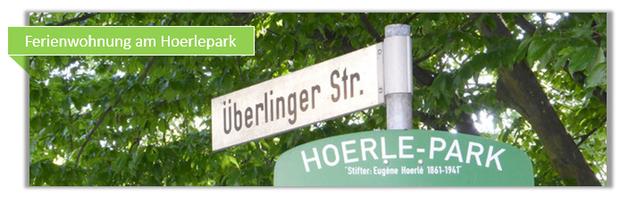 Hoerlepark Schild in Konstanz