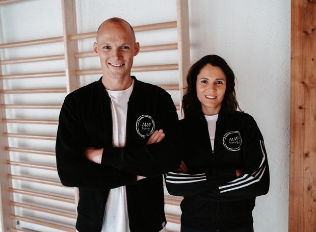 Personal Trainer Matthias Maier und Corinna Jauch