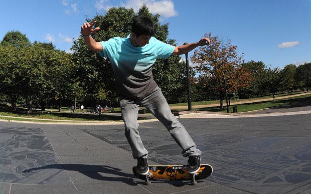 Primo Slide, Rene Shigueto. www.skateboardbusiness.de