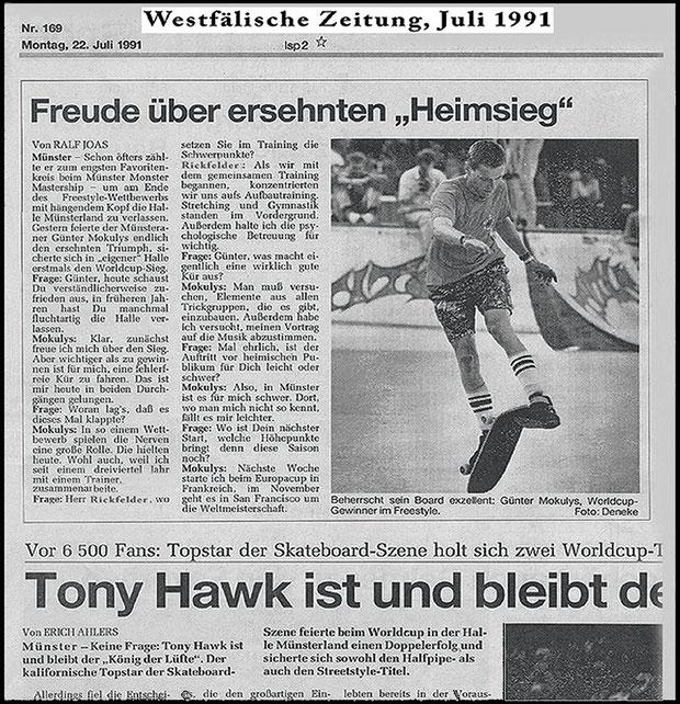 Westfälische Zeitung 1991