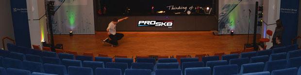 Electrolux Skateboard-Show mit Guenter Mokulys.