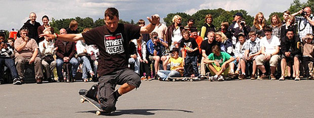 Skate-Contest in Paderborn / Germany