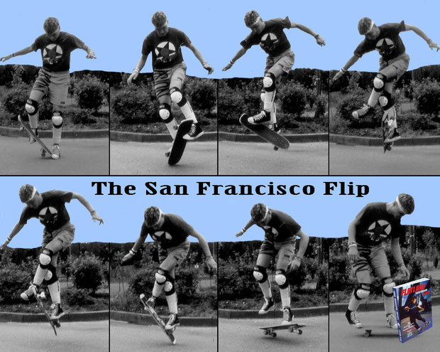 1986 The San Francisco Flip. Guenter Mokulys