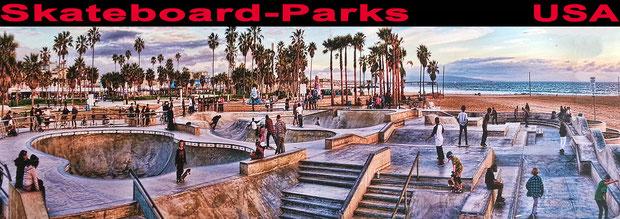 Skateboard-Parks, USA