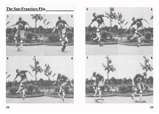 Guenter Mokulys, 1987. Trick: The San Francisco Flip.