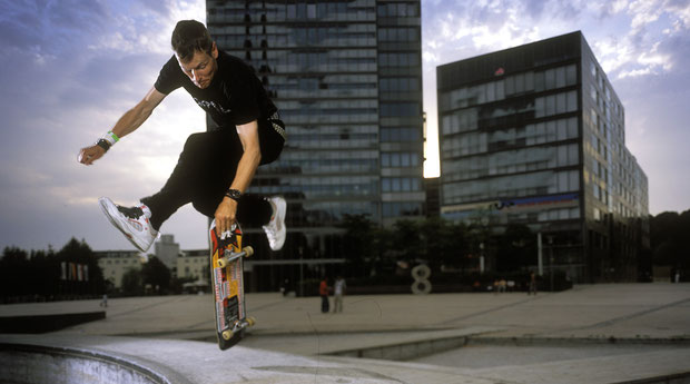 Ollie Air-Walk von Guenter Mokulys