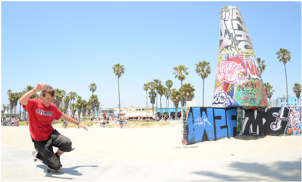 Guenter Mokulys in Venice Beach/California