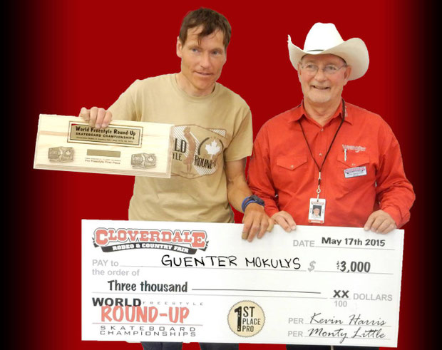 Guenter Mokulys / 1 Platz World-Championship
