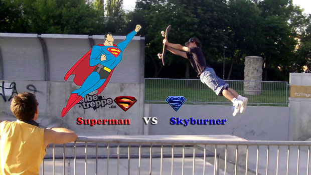 Superman vs Skyburner