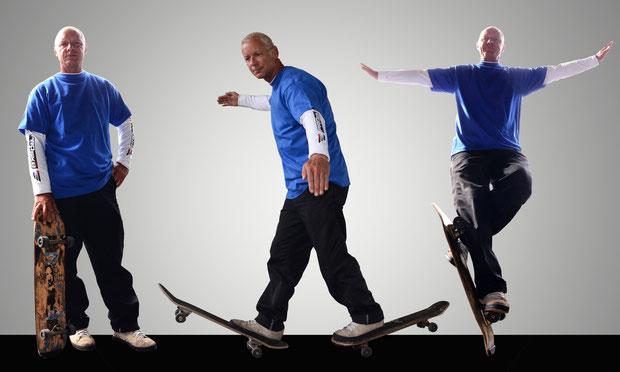 Skateboard-Show im ZirCouplet, Eddie Haack.