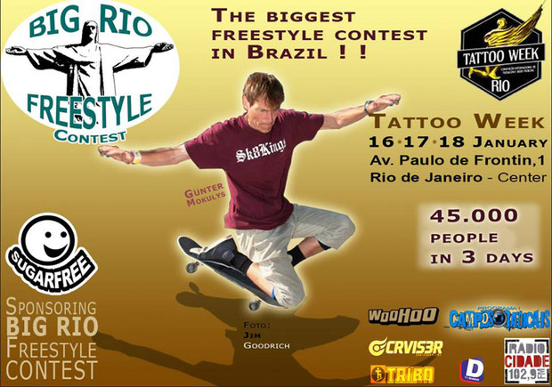 Big Rio Freestyle Contest 2015 / Guenter Mokulys