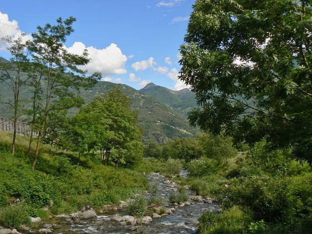 Magadinoebene Flussauental
