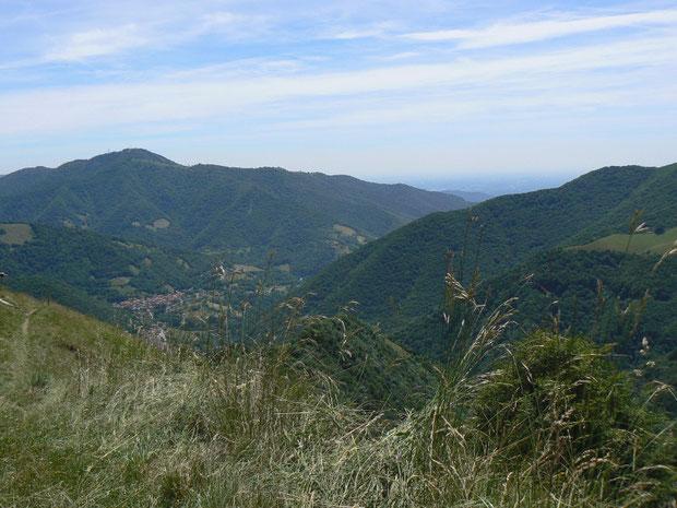 Das Valle di Muggio im Sommer