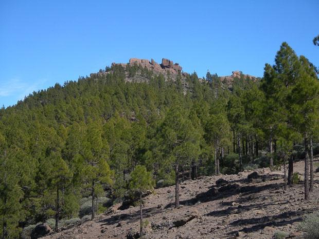 beim Pico de las Nieves