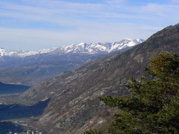 Felsensteppe im Wallis