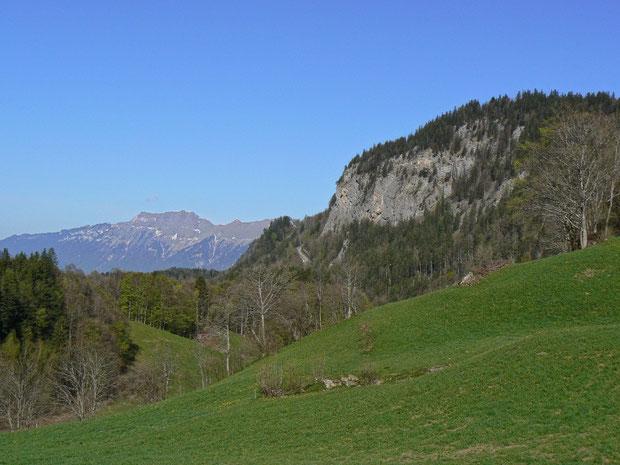 Tschorrengebiet von der Berner Seite