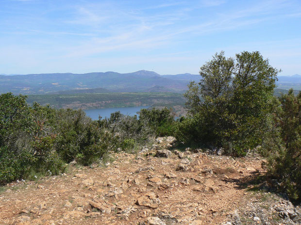 Aussicht auf den Lac du Salagou