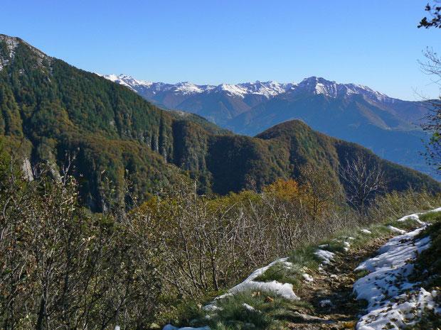 Monti della Motta nach Alpe di Sassello