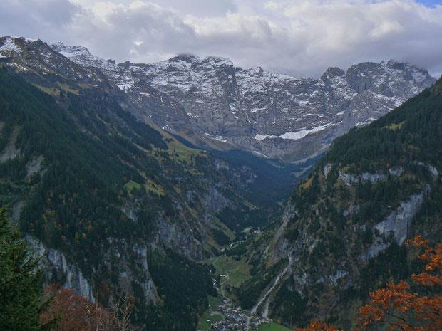 Brunnital (vom Klausenpass aus gesehen)
