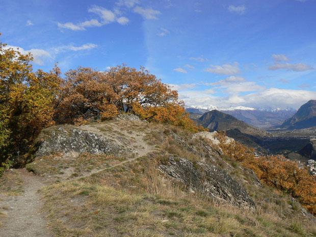 Mont d'Orge im Rhônetal
