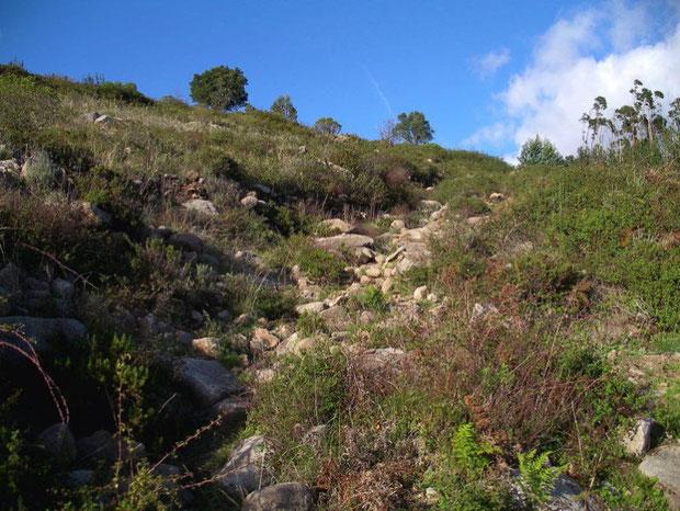 Serra de Monchique Aufstiegsweg