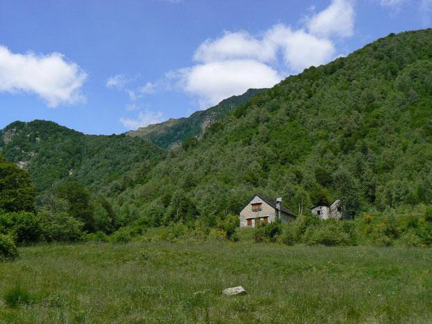 Onsernonetal (Italien) Alpe Fondo Monfraccio