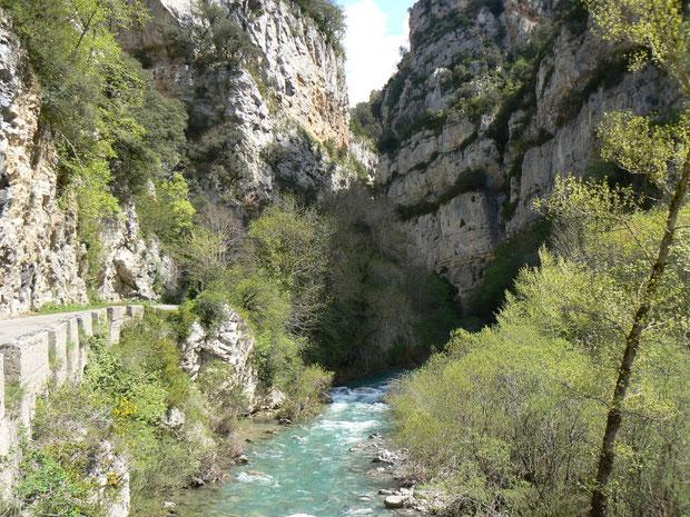 Rio Veral im Valle de Ansó