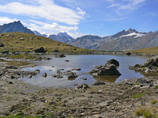Bergsee im Val d'Hérèns VS