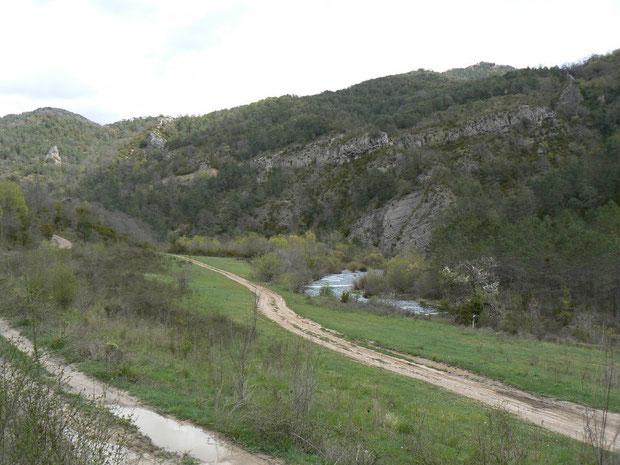 Valle de Ansó mit Rio Veral