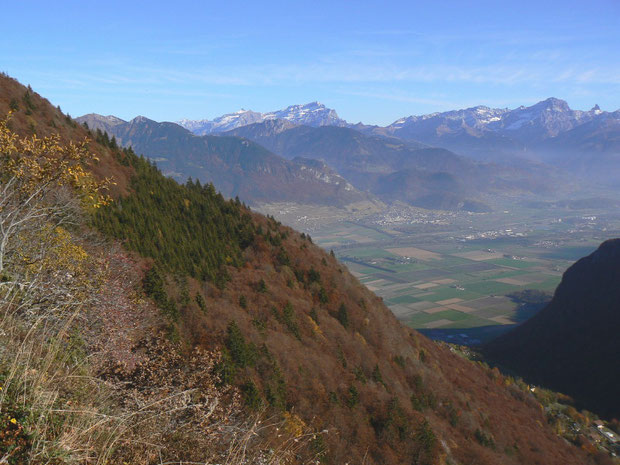 Aussicht vom Col de Taney VS