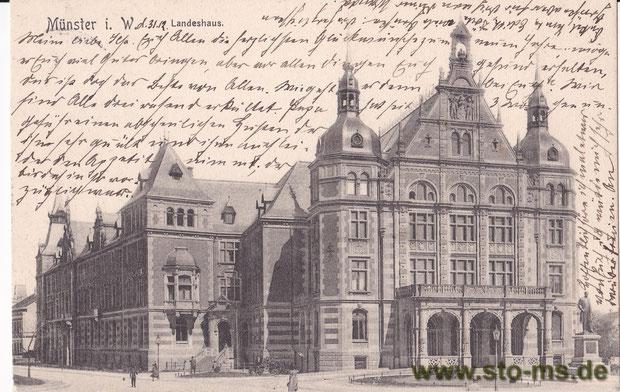 Landeshaus um 1901