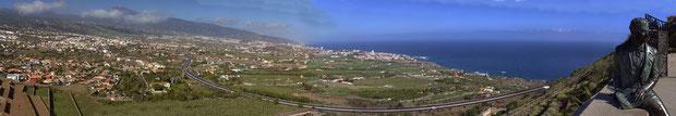 Viele Panoramen von unserer Urlaubsreise nach Teneriffa im Juni 2012