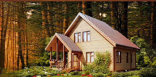 Cottage in legno vicino a kiev benvenuti su case a for Planimetrie di cottage francesi