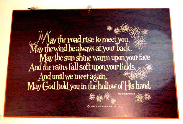❦ From an Irish prayer