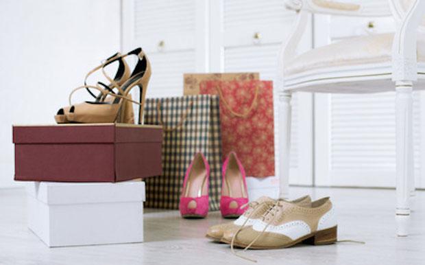 Schuhschrank, Schuhe, Schuhkarton
