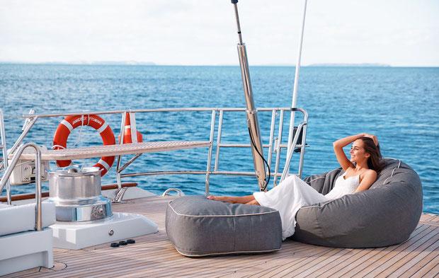Kreuzfahrt, Segelschiff, Deck, Urlaub, Seefahrt