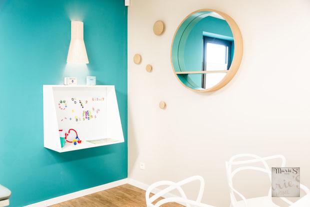 Aménagement & décoration  d'un cabinet médical en Province de Liège par l'agence de Décoration Marie's Home