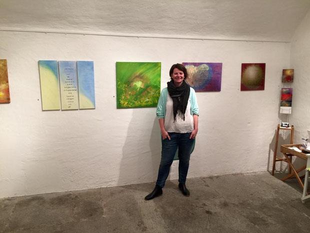 Künstlertage, Gruppenausstellung 24. - 26.04.15 im Müllerhaus in Lenzburg/ AG