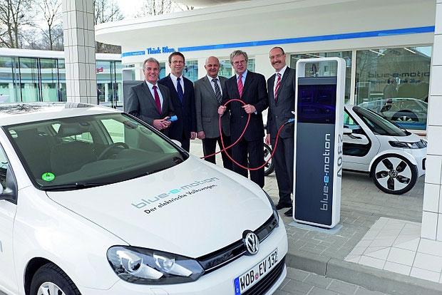 E-Mobility-Station Wolfsburg für Elektroautos