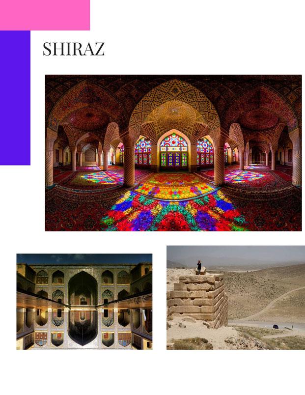 Nasir al-Mulk Mosque Shiraz, Iran