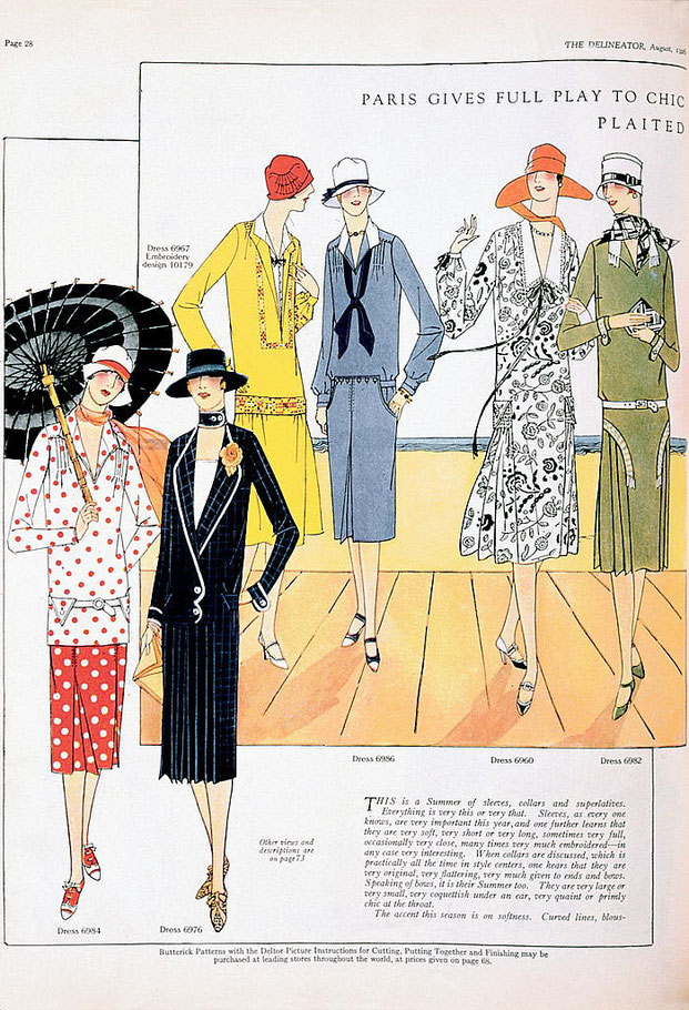 A Conversation about Fashion:  What styles are in fashion today?