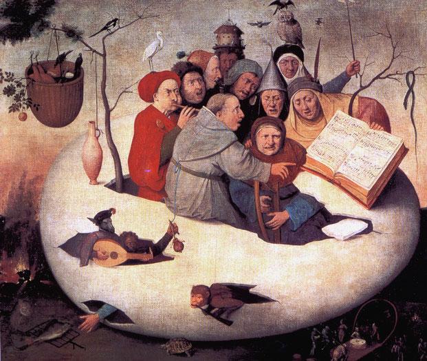 Schilderij: navolger Jheronimus Bosch