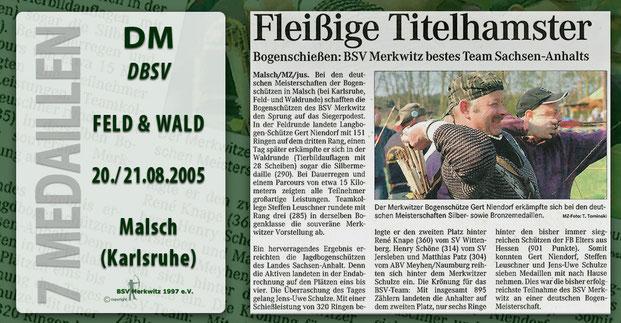 Fotocollage - Artikel - DM Feld/ Wald in Malsch