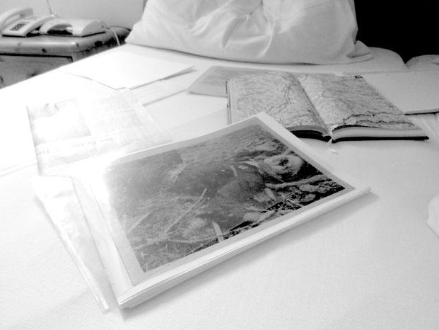 Kopie aus dem Polizeiakt «Alois Samer», erschossen im November 1953 im Bezirk Deutschlandsberg, historisch kontextualisiert und aufgearbeitet in: Edith Blaschitz, Der «Kampf gegen Schmutz und Schund», LIT 2014.