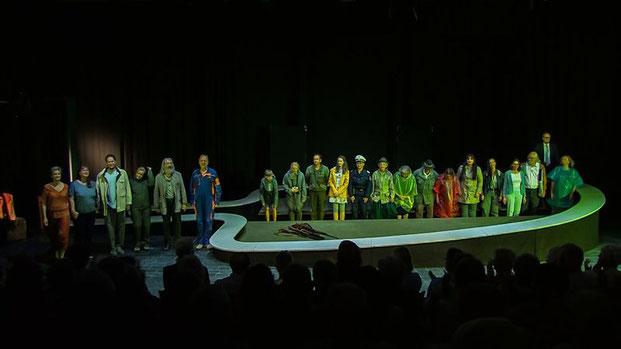 Ensemble der Theatertruppe «frei-wild» in Molln, OÖ (c) Jack Haines
